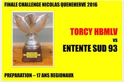 Challenge N. QUENEHERVE 2016 (Prépa -17 Ans - 11.09.2016)