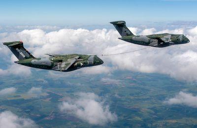 Brésil : Ravitaillement en vol autorisé entre KC-390 Millennium