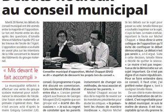 Cela se passe ainsi avec M. Garestier, maire LR de Maurepas