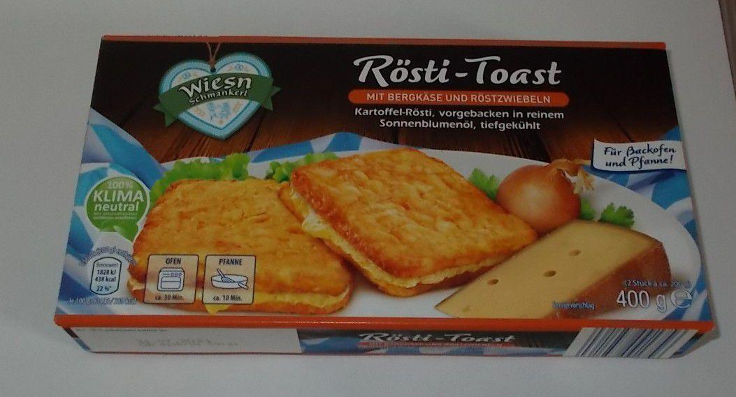 [Aldi] Wiesn Schmankerl Rösti-Toast mit Bergkäse