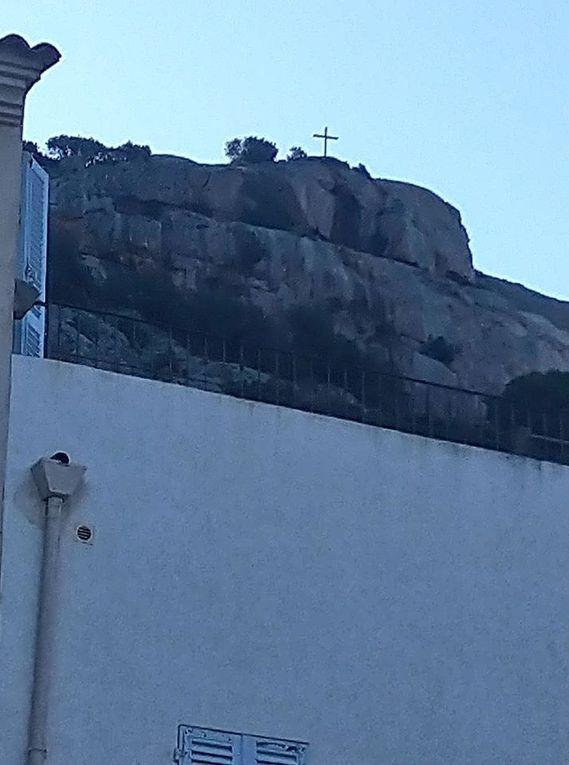 Lumio avec vue sur Calvi