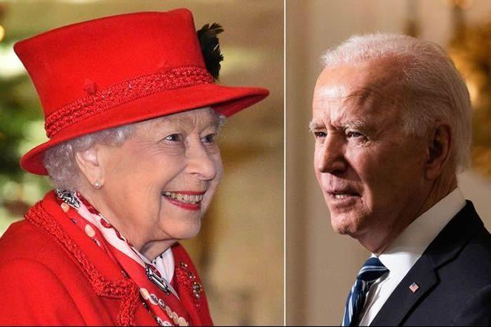 La reine Elizabeth II, le 8 décembre 2020 – Joe Biden, le 27 janvier 2021 Nunn Syndication / News Pictures - Capital Pictures/News Pictures