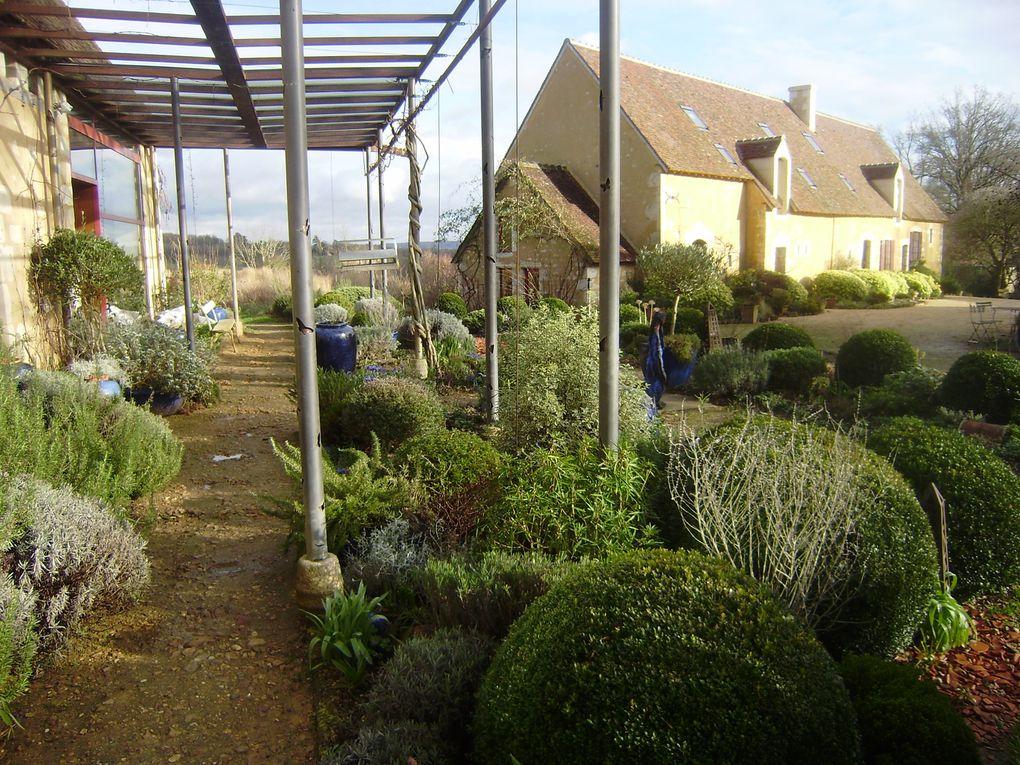 à quelques dizaines de kilomètre de chez nous le jardin François de Préaux dans le Perche Ornais