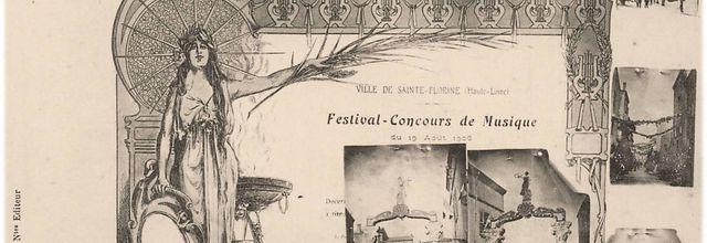 Concours de musique à Sainte Florine