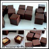 Chocolat fourrée à la banane - La cuisine de poupoule