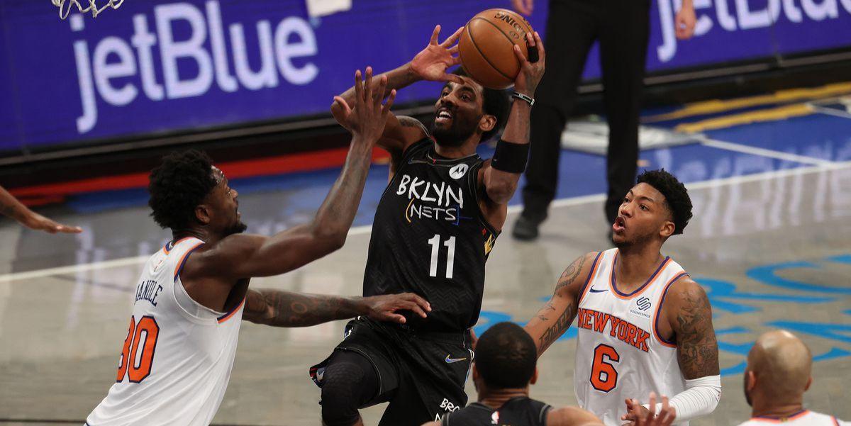 Kyrie Irving s'occupe des Knicks dans le derby new-yorkais, Luka Doncic et les Mavs viennent à bout du Jazz