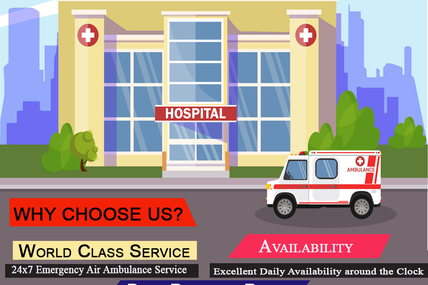 Know the best method to transfer the patient by air ambulance in Bangalore-Vedanta