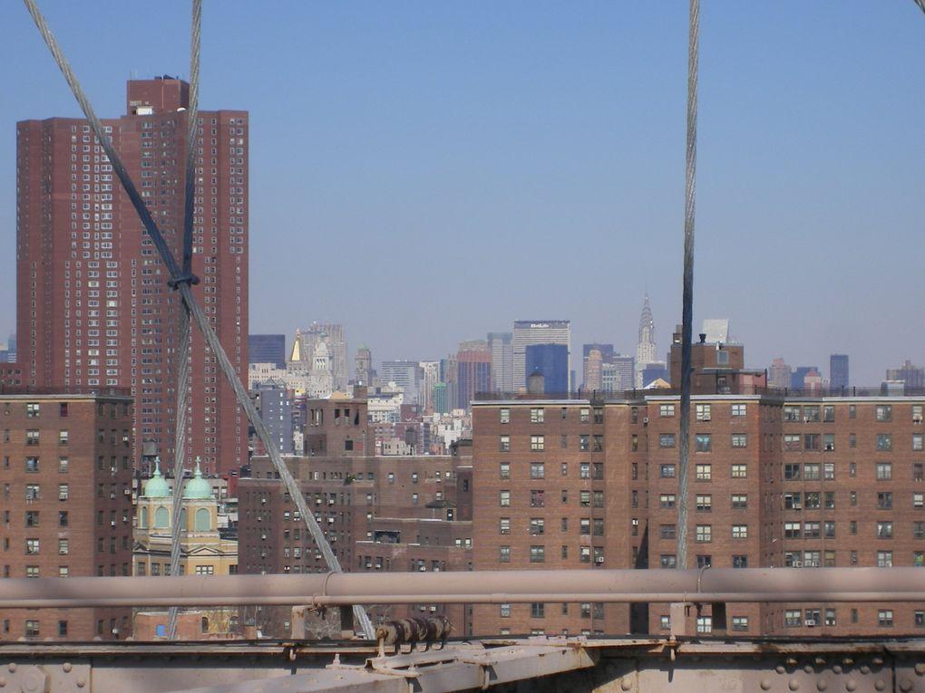 Voici toutes les photos de mon voyage à New-York en février 2008.