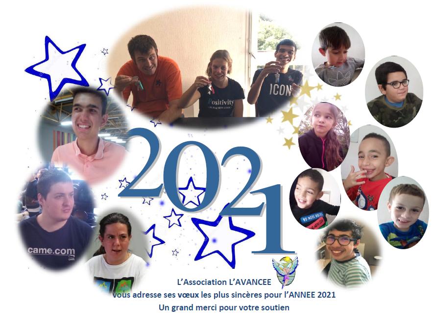 L'ASSOCIATION L'AVANCEE VOUS SOUHAITE SES MEILLEURS VOEUX 2021