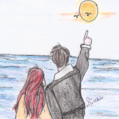 La mer, le ciel et le soleil: