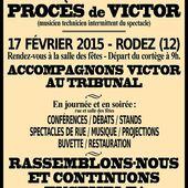 Soutenons Victor, inculpé pour avoir voulu participer au dialogue social !