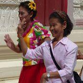 Thot Kathin (2017) à Takian Tiah - Noy et Gilbert en Thaïlande