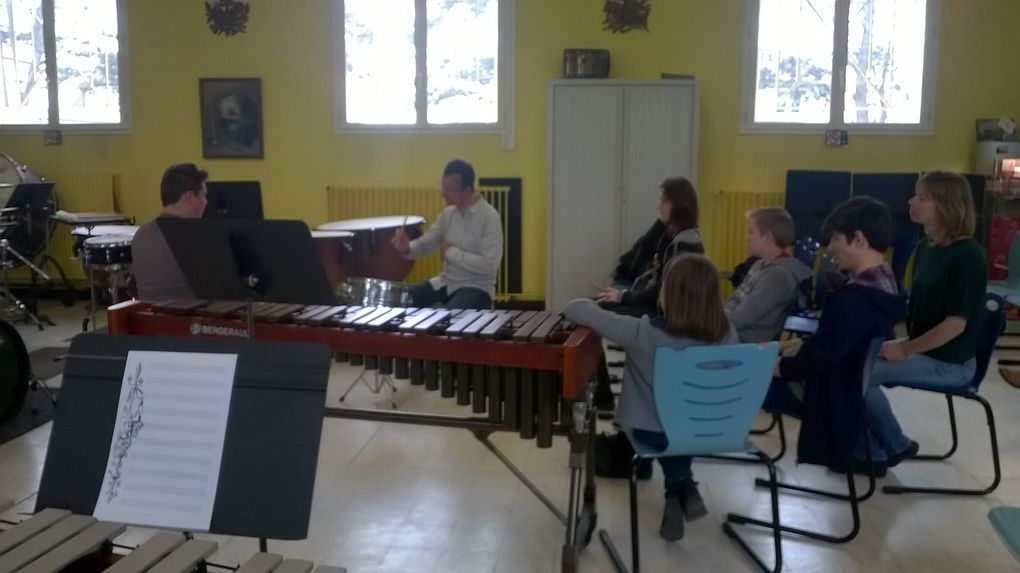 Retour sur la Master Class avec Jean François DUREZ à l'Ecole de Musique de Berck sur Mer