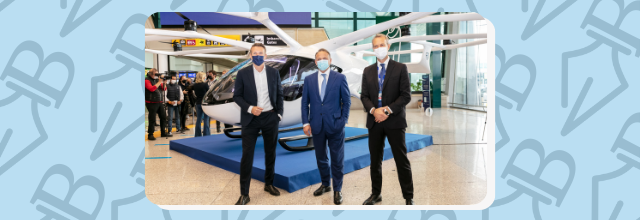 Urban Air Mobility: Atlantia, Aeroporti di Roma, and Volocopter to Bring Electric Air Taxis to Italy