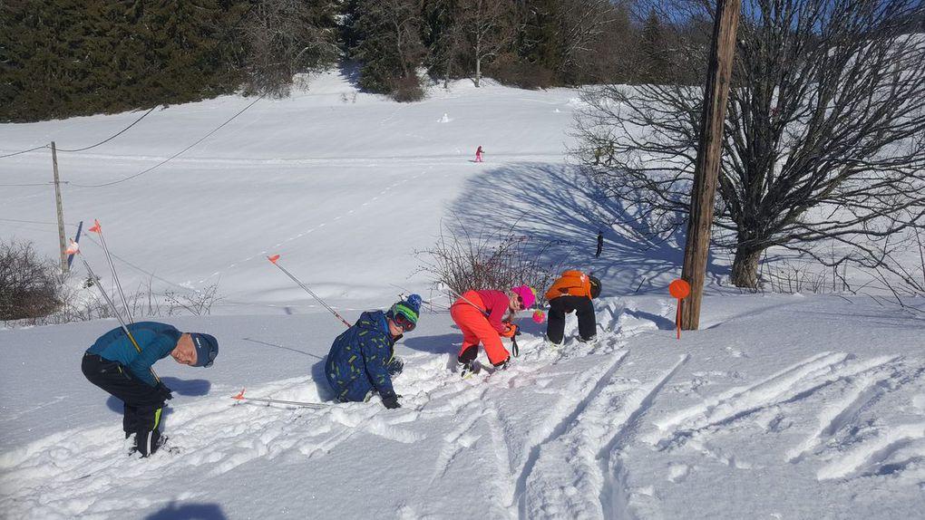 2e sortie de ski de fond pour les CP CE1