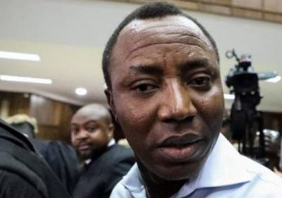 BREAKING: DSS Refuses To Return Sowore's Mobile Phones After Release