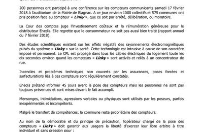 Informations Anti-Linky Blagnac