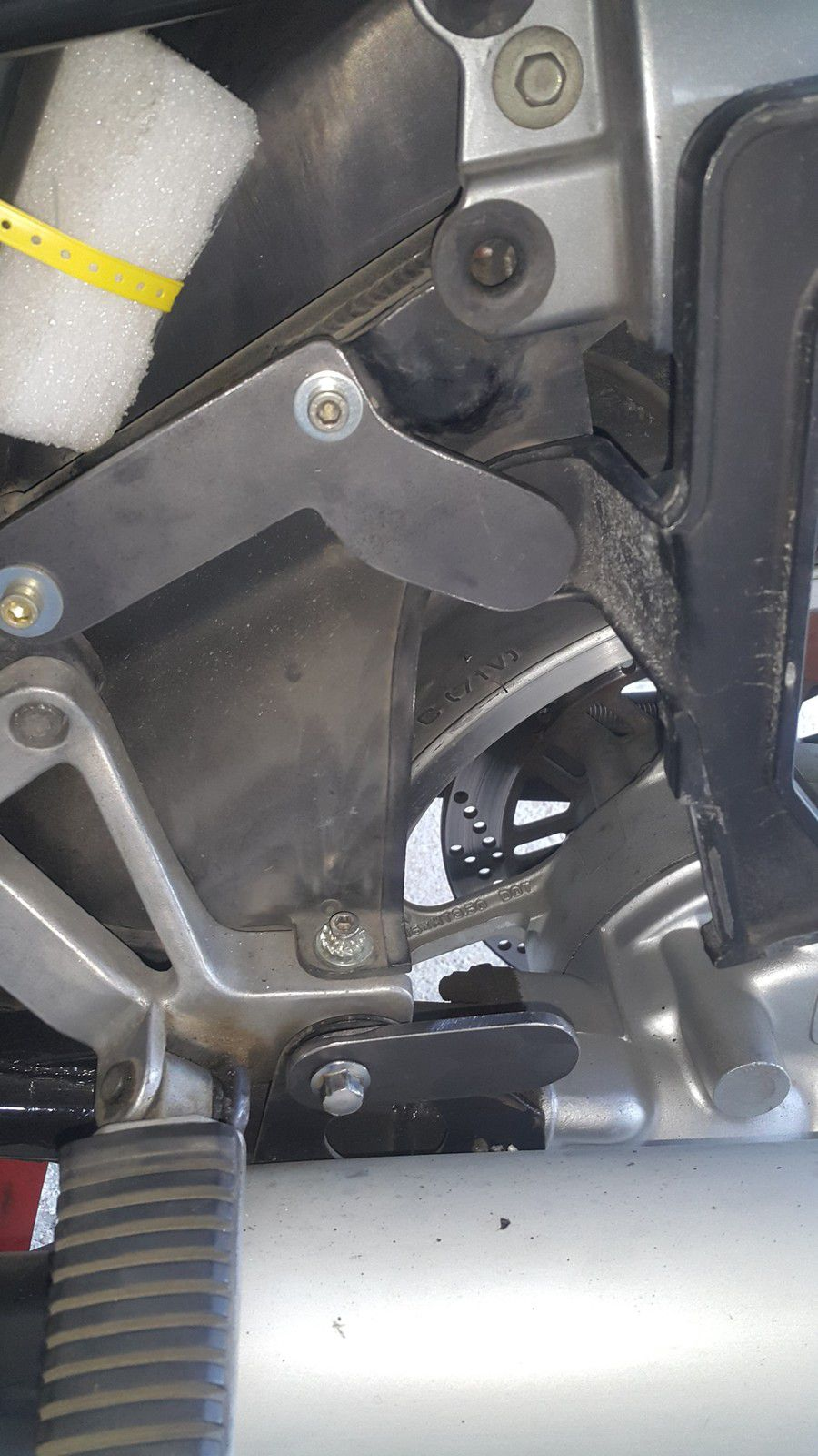 Protections chutes GTR 1000