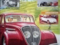 Un dessous de miniature très concave ... -  La 402 Taxi - Couverture de la revue AUOMOBILA N° 10.