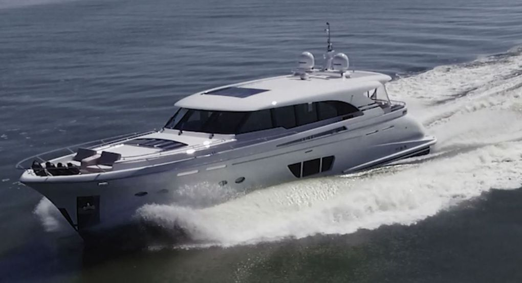 Le chantier Jetten Yachts livre un yacht custom de 22m de long