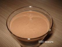 Milk-shake bananes nutella