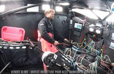 Vendée Globe 2020 - problème structurel à bord de l'imoca Hugo Boss d'Alex Thomson