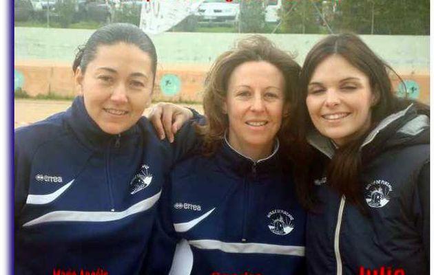 Championnat de Ligue CORSE (Félicitations les filles)