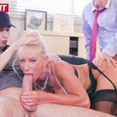 Marina Beaulieu se fait sodomiser dans un trio torride - actrice x