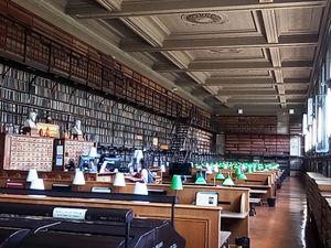 La bibliothèque de l'Ecole