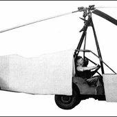 "Hafner ""Rotabuggy"" helicopter - development history, photos, technical data"