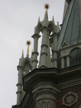 L'exemple unique du gothique russe - le manoir de la tsarine Catherine la Grande, Moscou