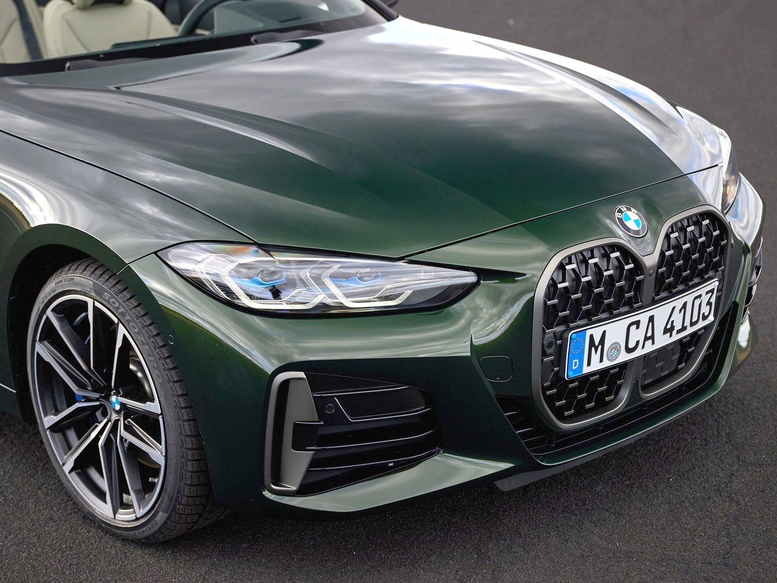 VOITURES DE LEGENDE (1252) : BMW  SERIE 4  M440i CABRIOLET - 2021