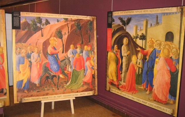 L'exposition Fra Angelico à Bury-Rosaire /..../ The Fra Angelico Exhibition in Bury-Rosaire