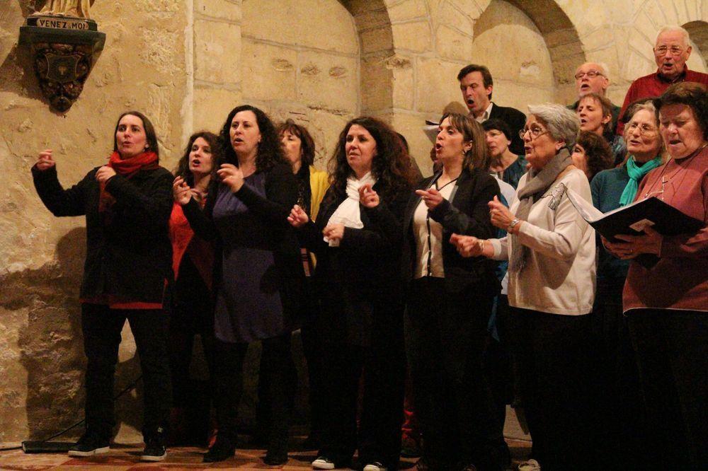Concert Vocal le 18 mars 2018 à Saint-Vivien-de-Monségur
