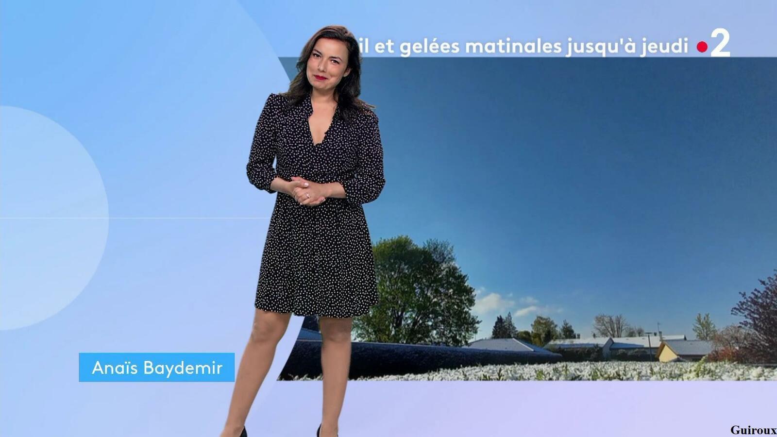 Anaïs Baydemir 12/04/2021 Journaux météo du soir