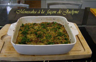 Moussaka rapide et diététique, façon Jaclyne Cuisson des légumes au four vapeur