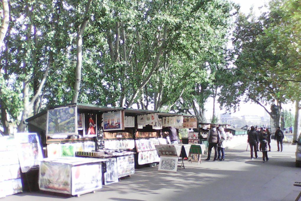 Balade des quais aux Tuileries