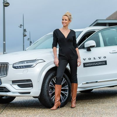 Volvo a choisi Elodie Gossuin!