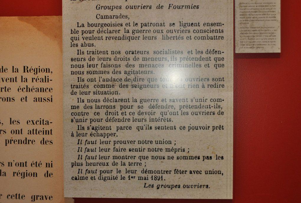 Ecomusée du textile et de la vie sociale de Fourmies.