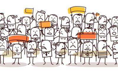Dans la notion d'accueil, Il y a plusieurs façons de gérer un flux de personnes :