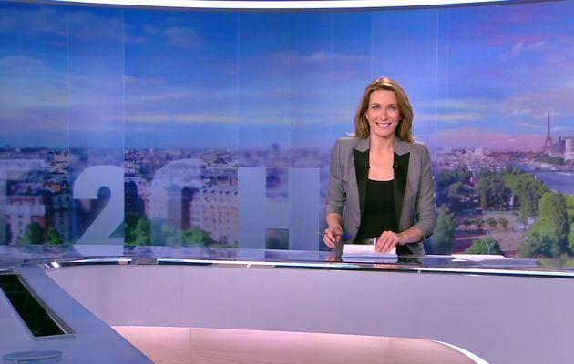 LE 20H WEEK-END d'ANNE-CLAIRE COUDRAY le 2016 05 15 sur TF1