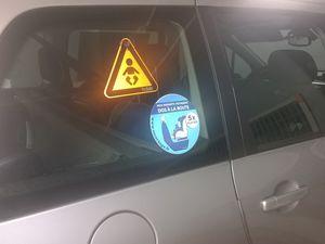 Les autocollants Securange sont enfin disponibles