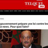 [NOUVEL ORDRE MONDIAL]Après Facebook,la France et l'Italie.Le gouvernement marocain prépare une loi contre les fake news. Pour quoi faire?