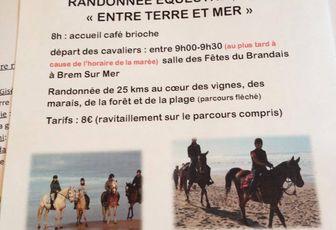 Rando à Brem sur Mer (85) dimanche 3 mai 2015
