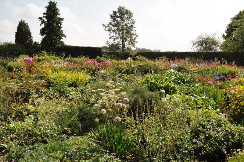 Nous ne sommes qu'à 50 km de Humelo où habite Piet Oudolft : ça se sent dans la démarche et dans le choix des plantes.