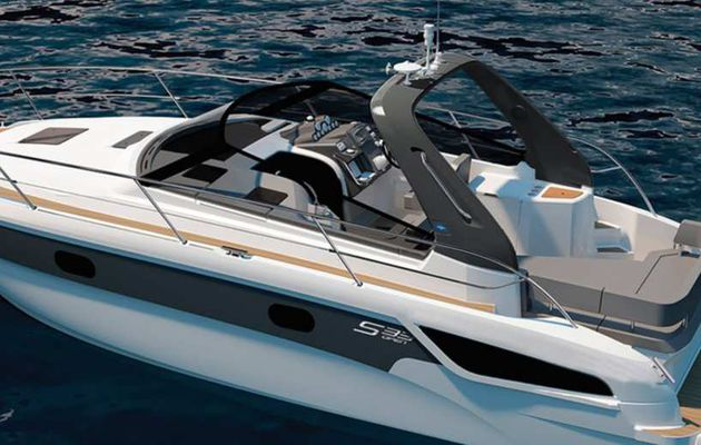 Bavaria Yachts - A new Style Equipment Package for the S-Line Powerboats Range