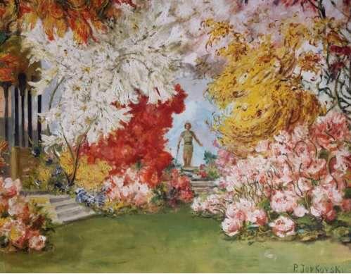 (Joukovski est célèbre pur avoir réalisé un très beau portrait de Wagner la veille de sa mort – ce dessin est conforme aux intentions de Wagner, mais le Maître en a-t-il eu connaissance?…)