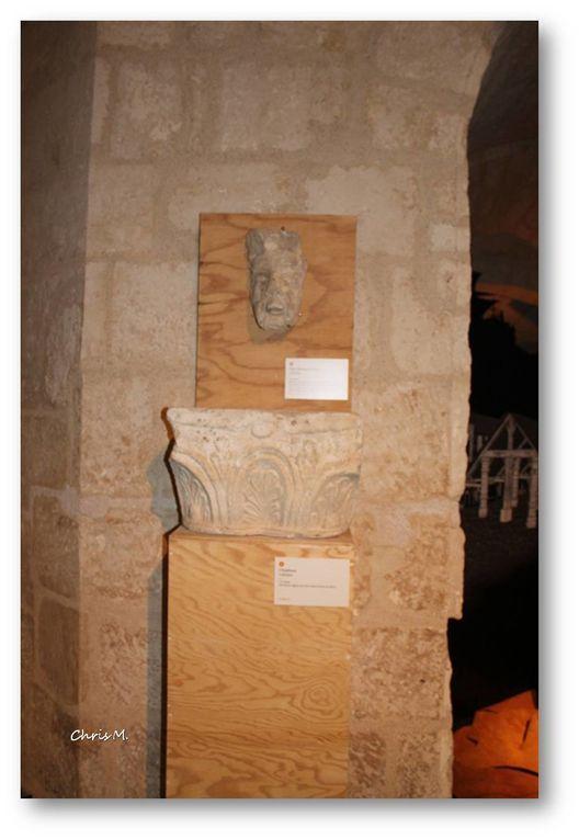 Salle d'histoire; plan de Niort