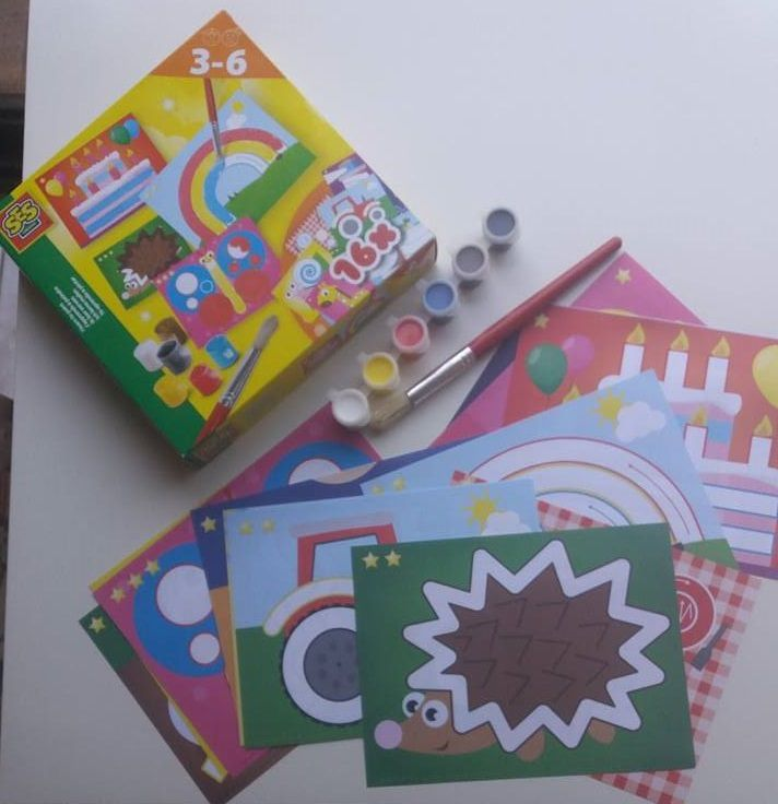 J'apprends la peinture avec SES CREATIVE - Activité manuelle enfant !
