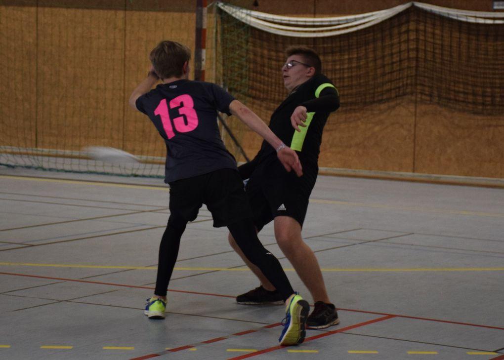 L'équipe 1 en action
